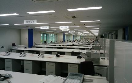 豊洲新市場大卸の事務所