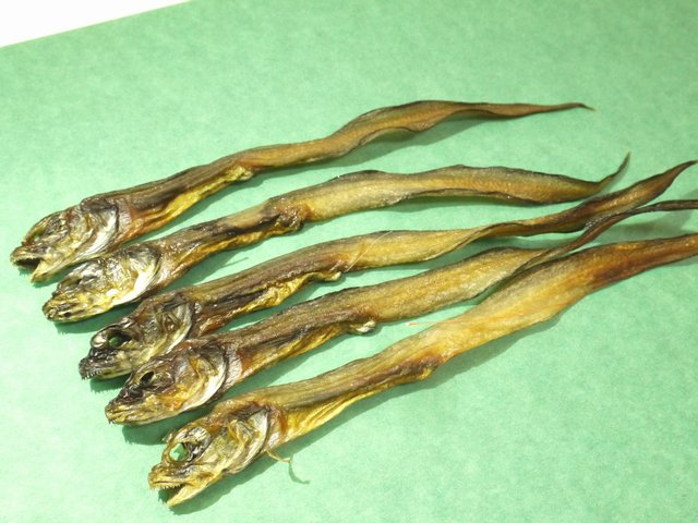 水魚の干物上乾