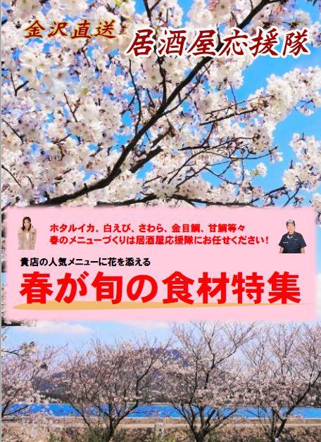 居酒屋応援隊の春が旬の食材特集