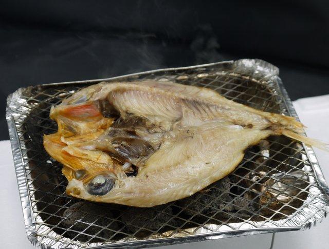 金目鯛一夜干し調理例