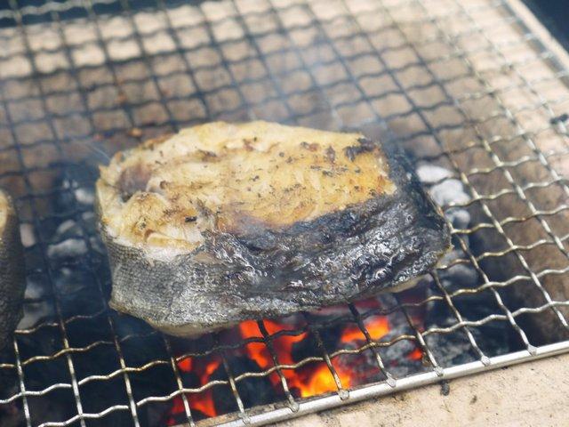 ギンダラ炭火焼き