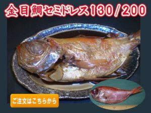 金目鯛セミドレス130/200